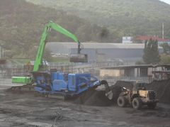 Подготовка угля к погрузке